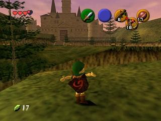 Legend OF Zelda, The Ocarina of Time - Nintendo 64