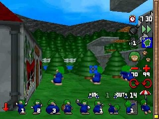 Lemmings 3D - Sony Playstation